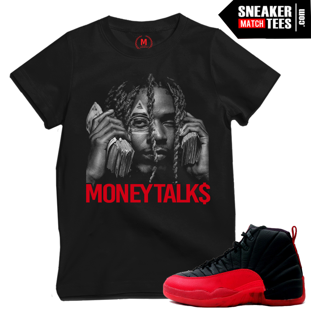 Shirts matching Flu Game 12s Jordans