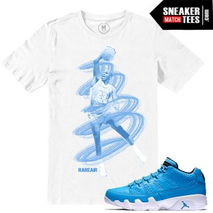 T shirts Match Jordan 9 Pantone Low