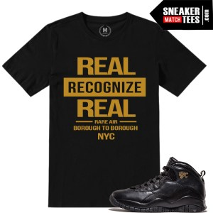 NYC 10 match Jordan tees
