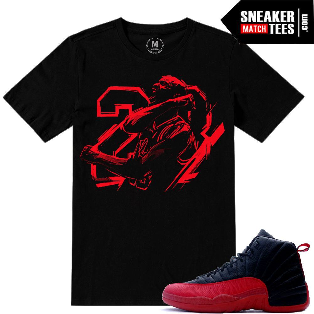 Flu Game 12 matching t shirts