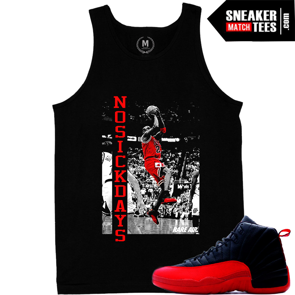 Flu Game 12s No sick Games t shirt black