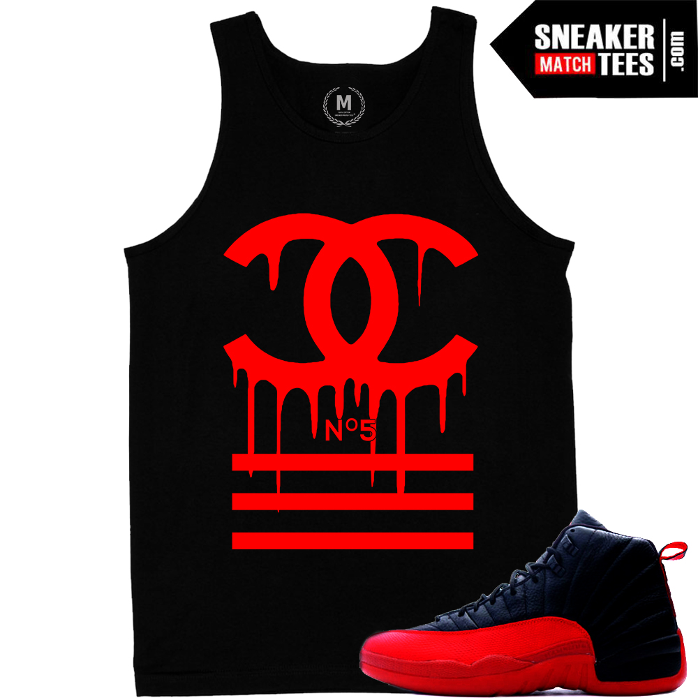 Flu Game Tank tees shirts match Flu Game 12