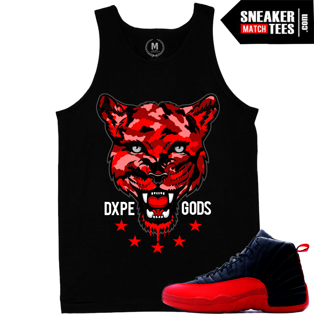 Flu game 12 matching sneaker t shirts