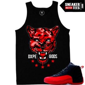 Flu game 12 matching sneaker t shirts