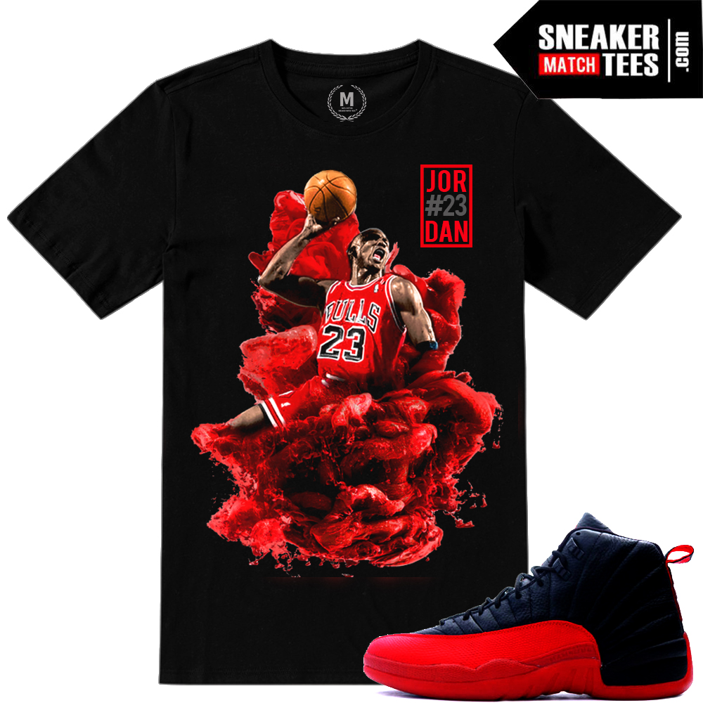 Flu game 12s shirt match