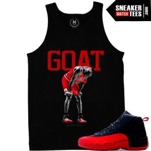 Goat tank top match Flu Game 12s