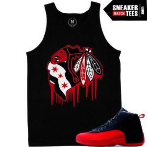 Jordan 12s flu game release 2016 t shirts