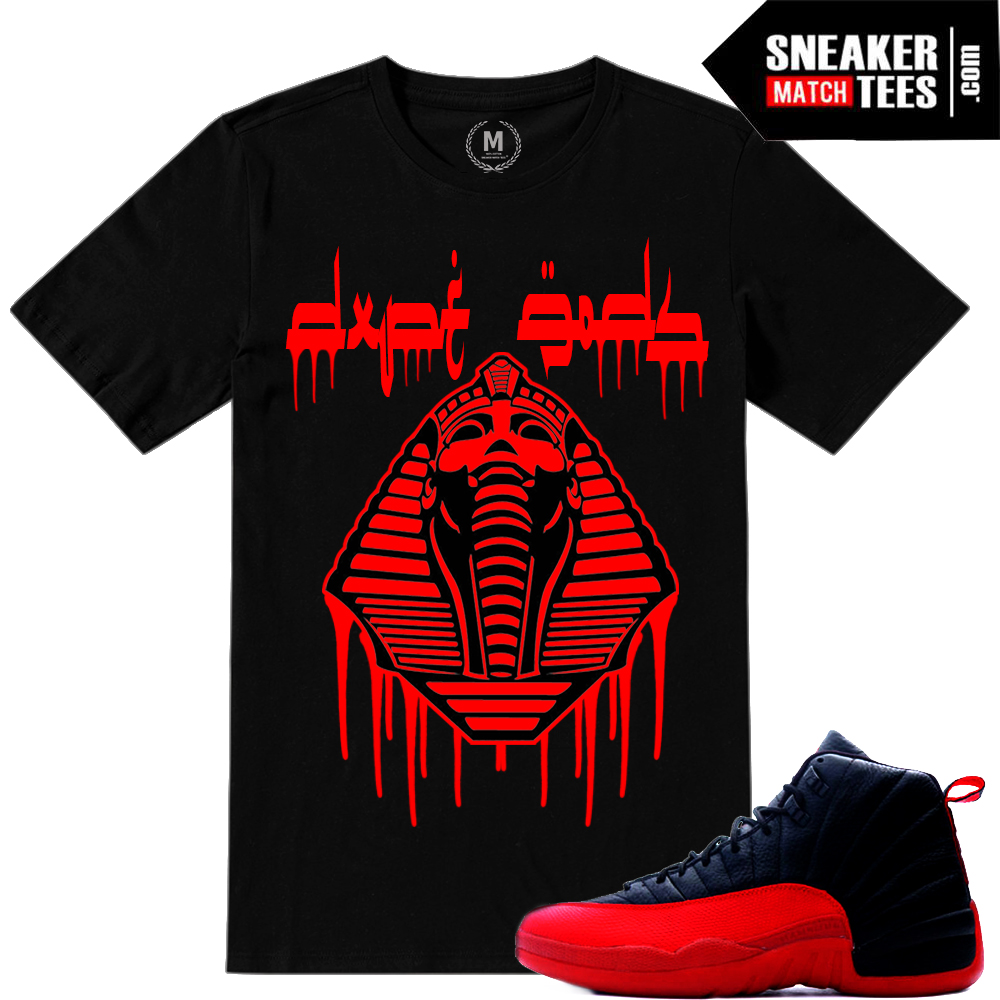 T shirts matching Flu Game 12s