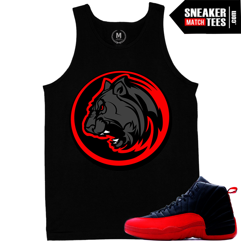 Tank tops match Flu Game 12s