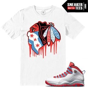 t shirt match Chicago 10 Jordan Retros