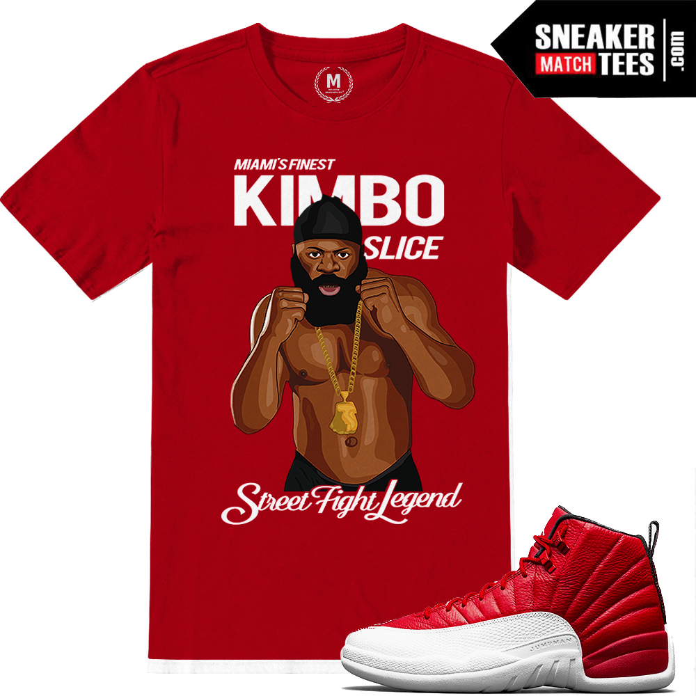 0bfabdf081e Gym Red 12 Match Sneaker tees | Sneaker Match Tees