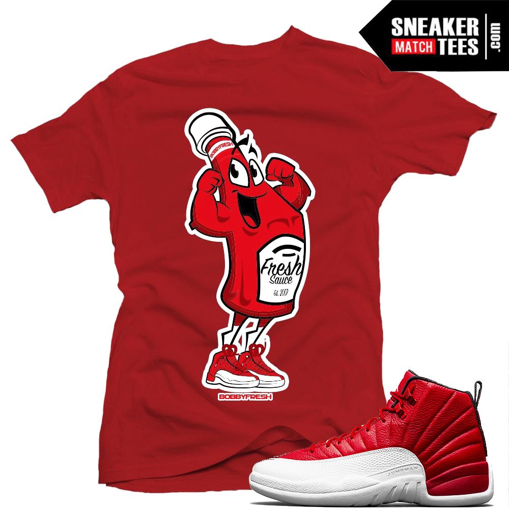 eae6f810e234 Gym Red 12 t shirts match Jordan Retro