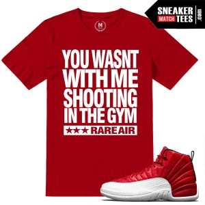 Gym Red 12s Sneaker Tees