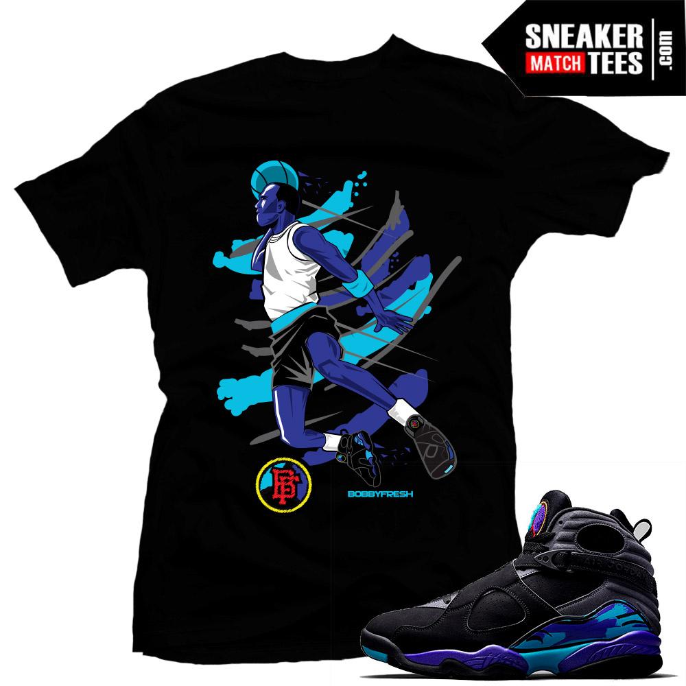 5c1fc14080f Aqua 8s Jordan Sneakers Match T shirts | Sneaker Match Tees