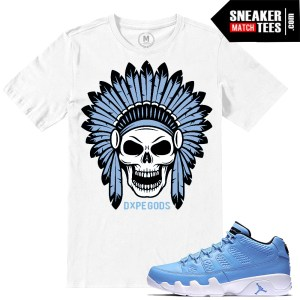 Jordan Retro 9 Pantone low Match Sneaker tees