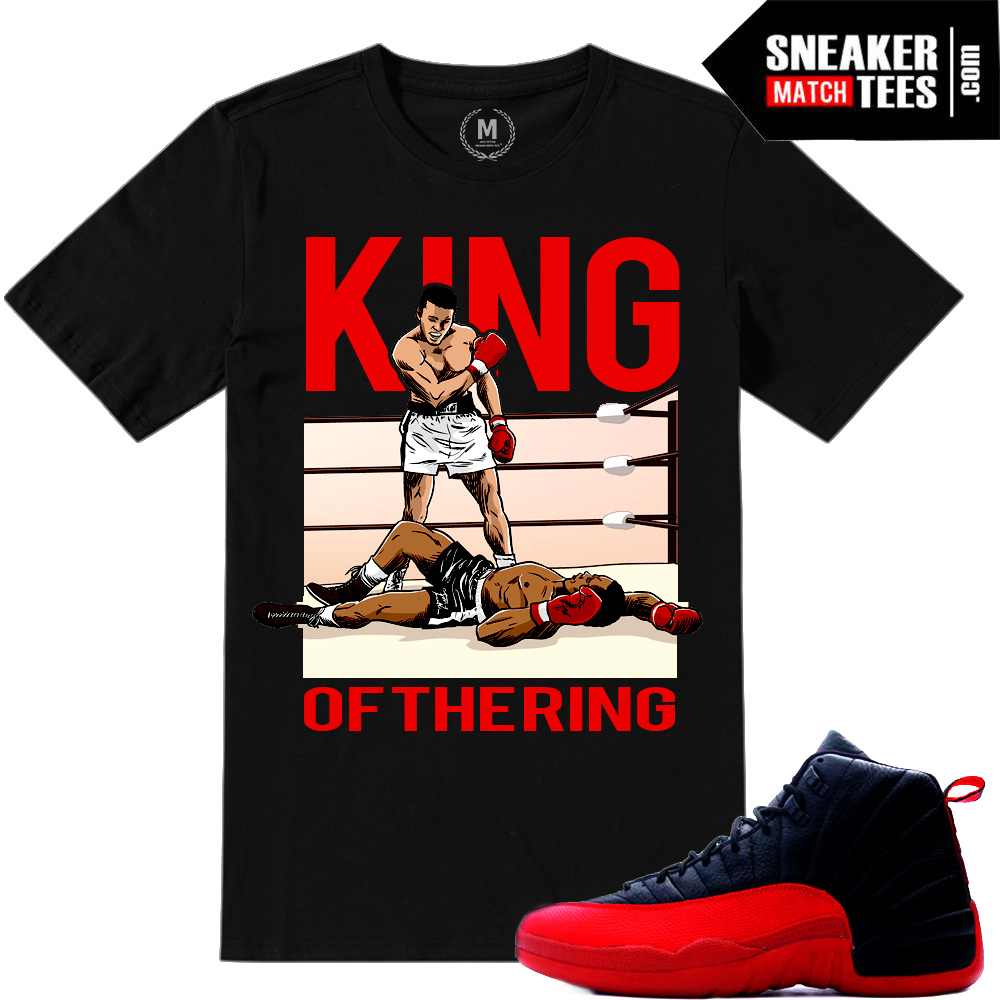Jordan Retro Flu Game 12 Match Sneaker Tees