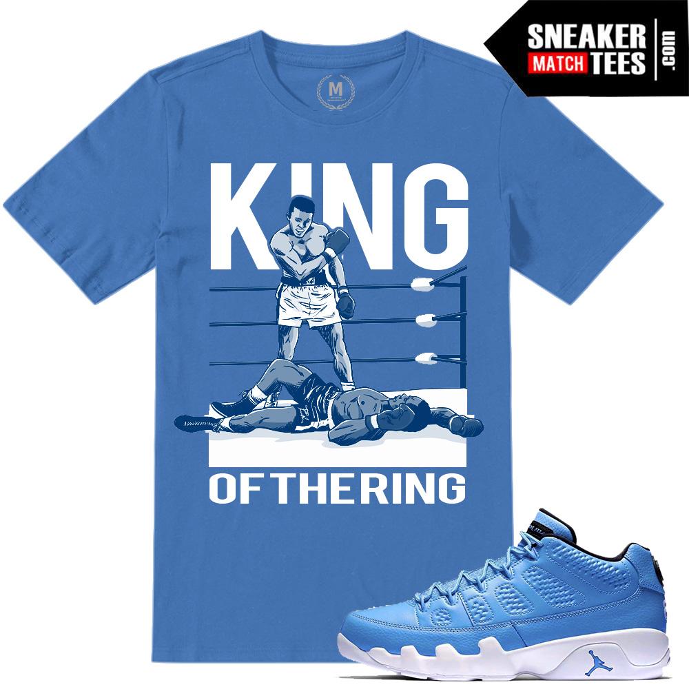 bf56e1d5091 Jordan Retros 9 Pantone Match T shirts | Sneaker Match Tees