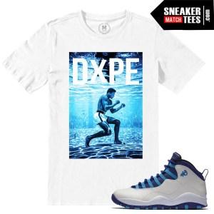 Match Air Jordan 10 Hornets Sneaker Match Tee Shirts 4a1143ab15