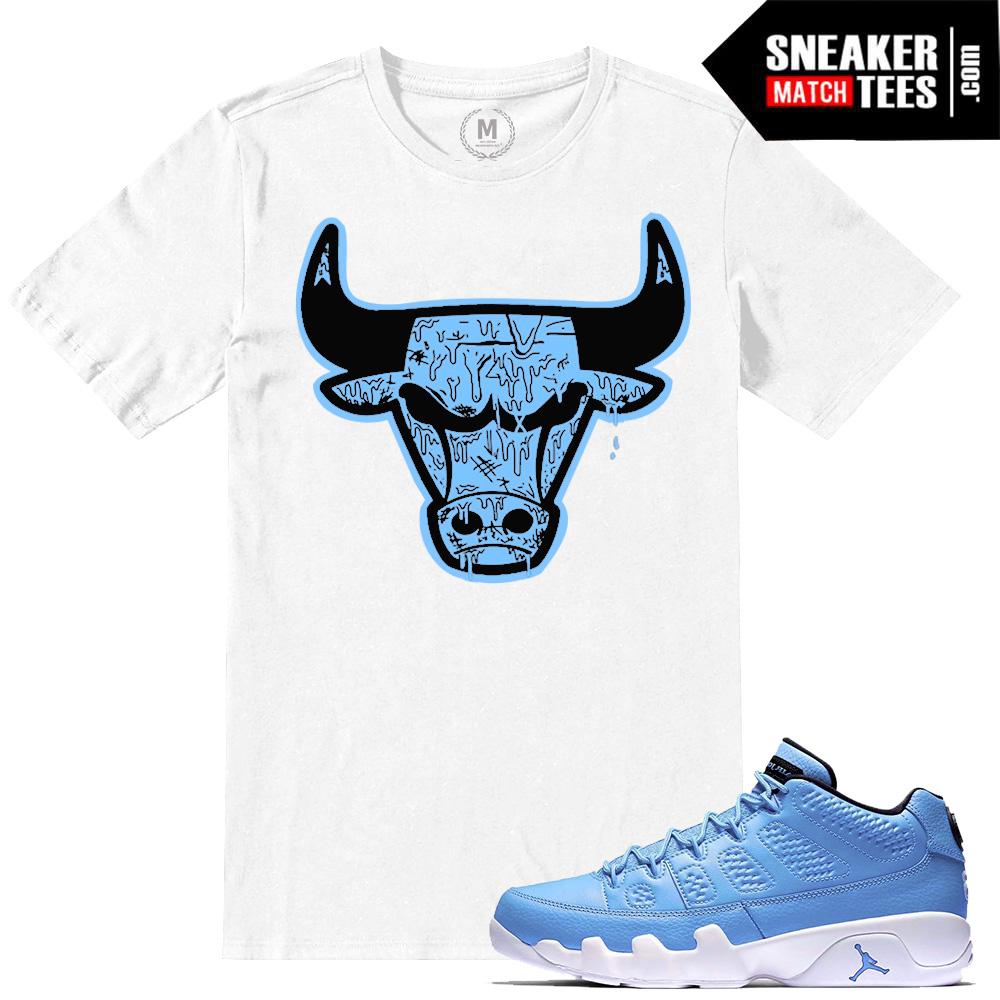 f902466c7603 Retro Jordan 9 Sneaker tees match Pantone 9 Shirts