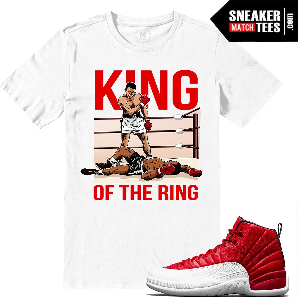 f6a4dee6786190 Shirts match Jordan 12 Gym Red