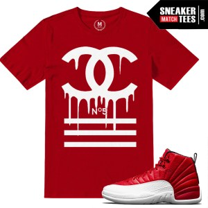 Sneaker Tees Gym Red 12s Match