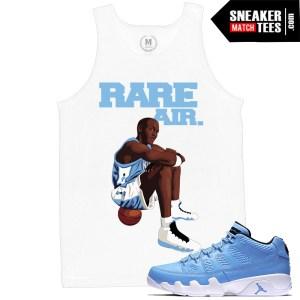 Sneaker Tees Match Jordan 9 Pantone