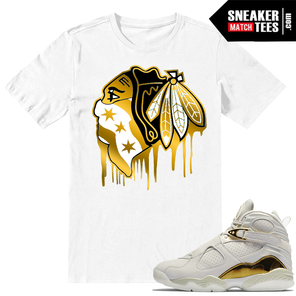 Sneaker t shirts match Championship pack 8