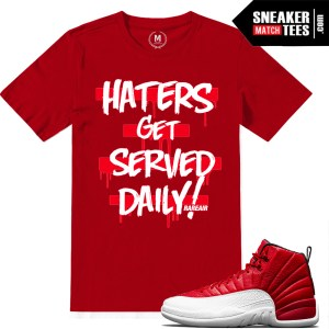 Sneaker tees Gym Red 12s
