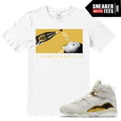 Sneaker tees Match Championship Pack 8s