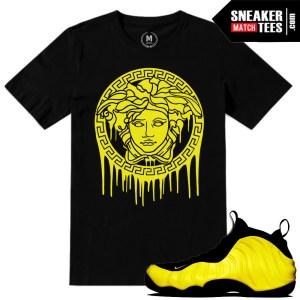 Sneaker tees match Optic Yellow wutang nike foams