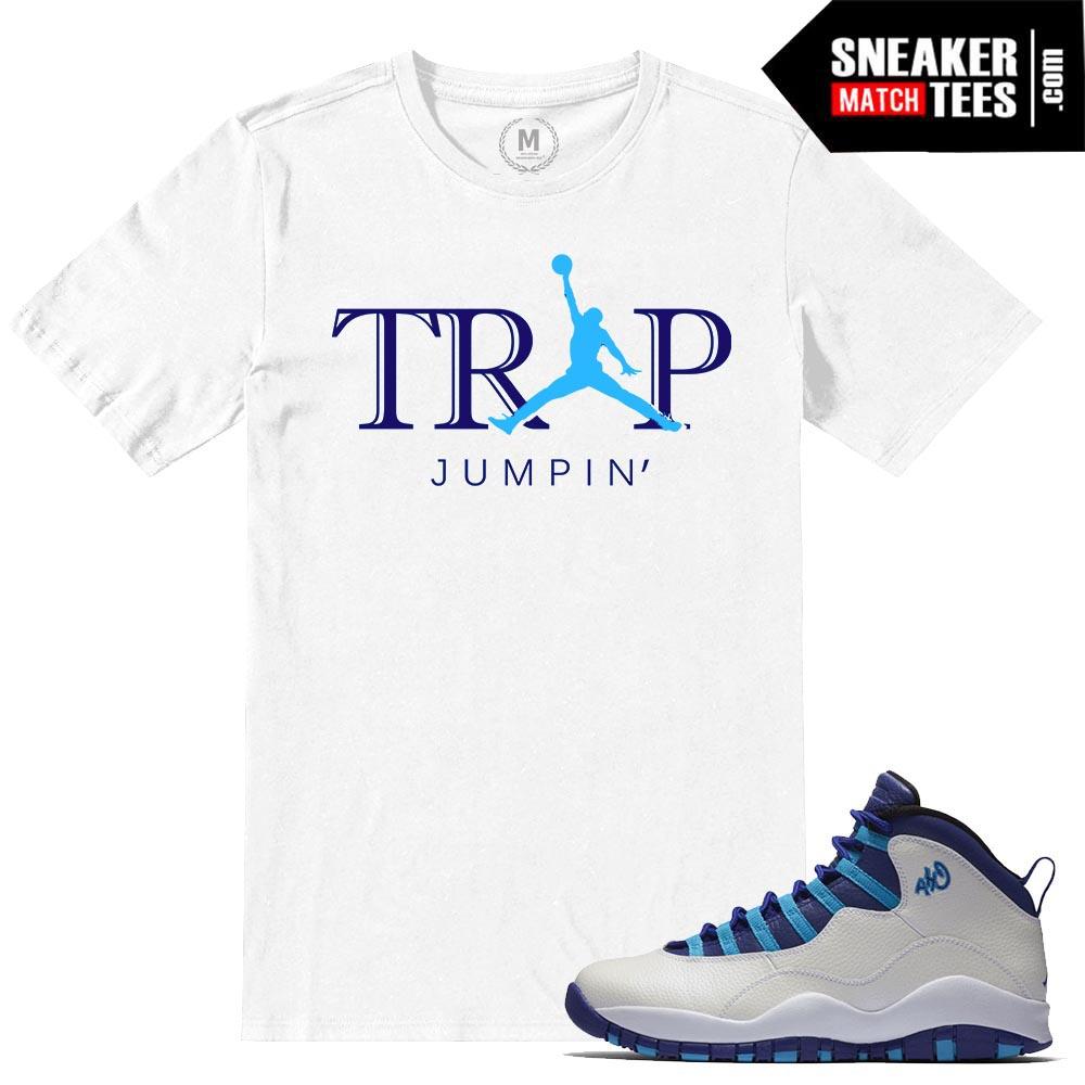 Shirt Match 10 White T Charlotte HornetsTrap Jumpin Jordan Retros m8wOnvN0