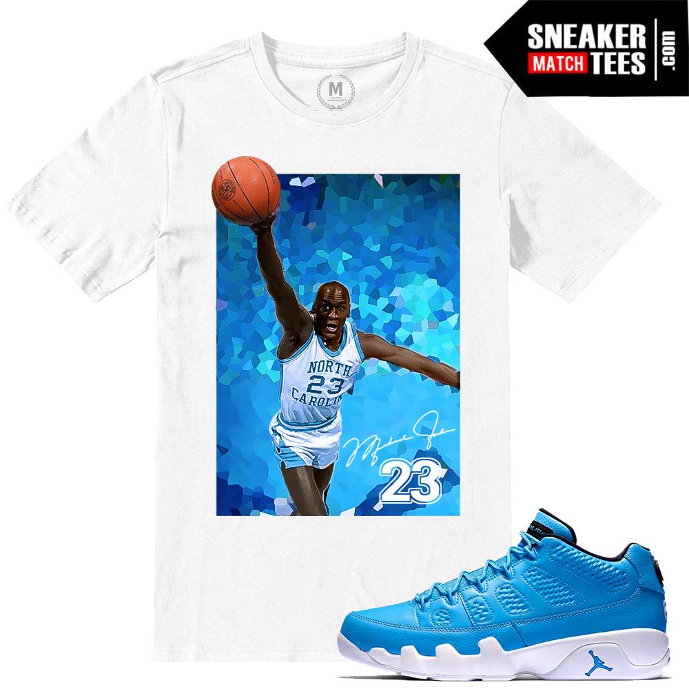 93a9a1607f21 T shirts match Pantone 9 Low Jordans