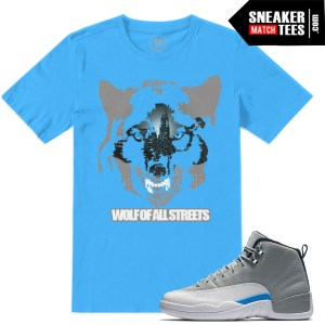 Wolf Grey 12 Jordan Retros match T shirts