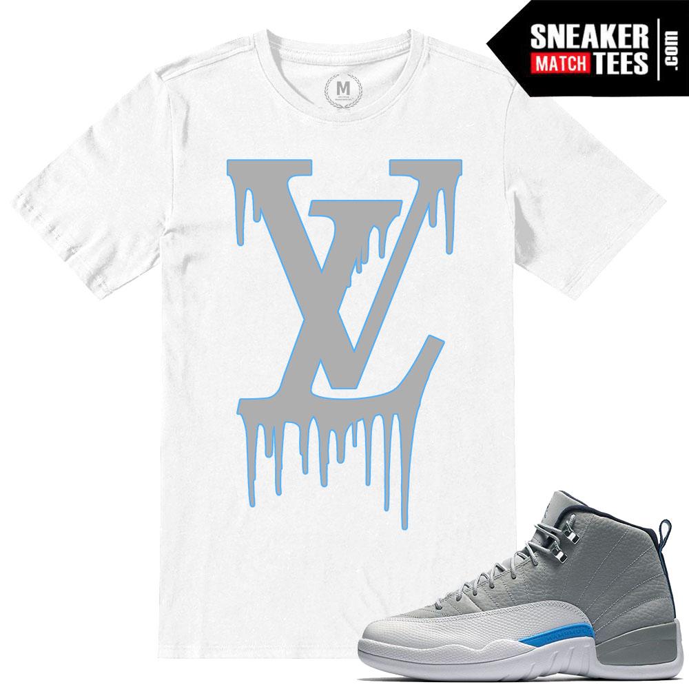 9e2607e1bd9b Jordan 12 Wolf Grey T shirts Match Retro Jordan
