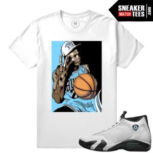 Jordan Retros Oxidized 14s match T shirts