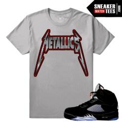 OG Metallic 5s match t shirt