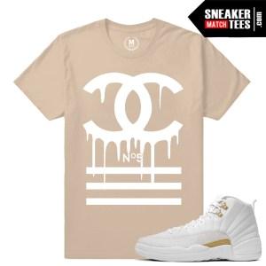 OVO 12s sneaker tees match