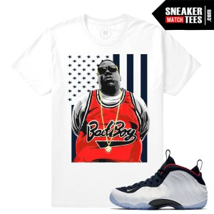 Olympic Foamposite t shirts match Nike
