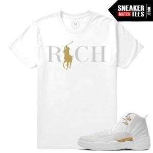 Sneaker Shirts match OVO 12s