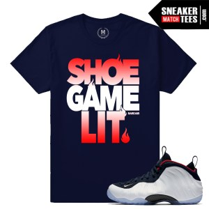 Olympic Foams T shirt match sneakers