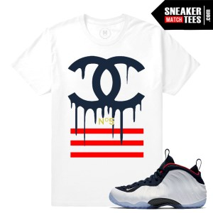 Sneaker tees Olympic Foams Match T shirts