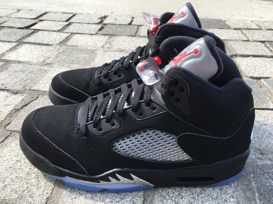 new concept 4fa46 cf549 Black Metallic 5s OG Jordan release date July 23rd