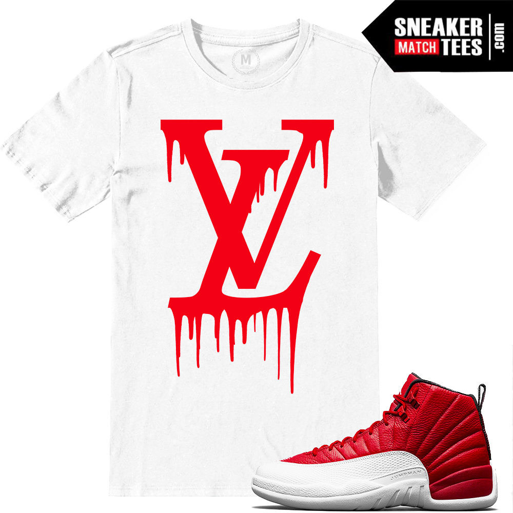 270deeb06f4 sneaker tee shirts match Gym Red 12s | Sneaker Match Tees