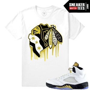 Air Jordan 5 Olympic shirts