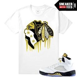 Air Jordan 5 Olympic shirts