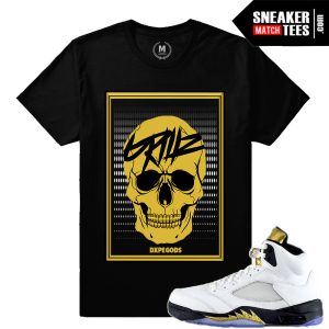 Air jordan 5 Olympic matching t shirt