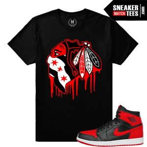 Banned 1s Jordan Match Bred T shirt