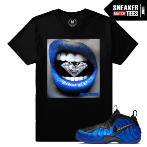 Cobalt Foams matching t shirt
