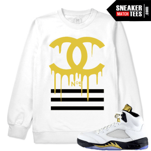 Crewneck Match Jordan V Olympic Retros