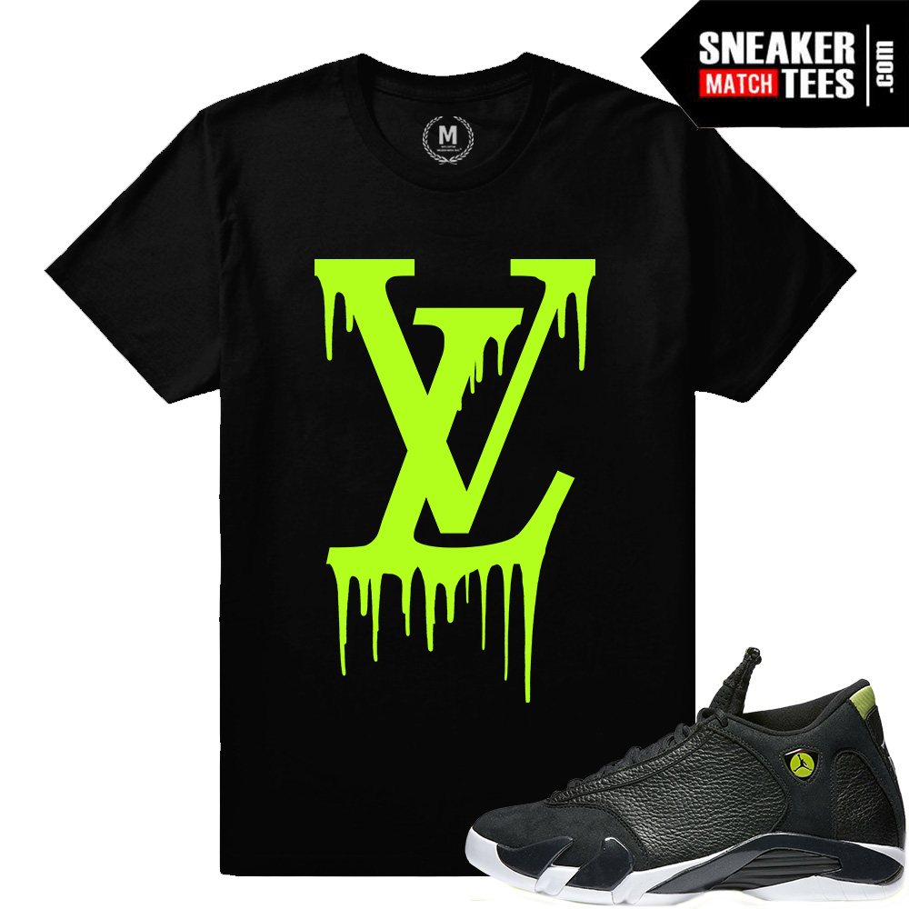 huge selection of 6f043 154be Indiglo 14s t shirts   Sneaker Match Tees Indiglo 14 Jordans